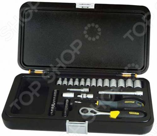 """Набор с торцевыми головками STANLEY 1/4""""  набор из 20 инструментов stanley zipper wallet 1 90 597"""