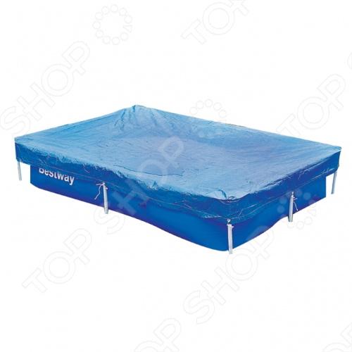 Чехол защитный для бассейна прямоугольного на стойках Bestway 58103