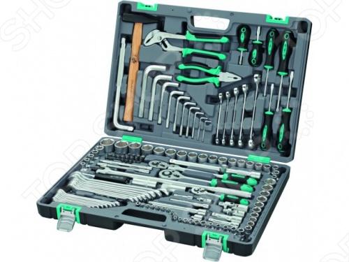 Набор инструментов Stels из 142 предметов в кейсе набор инструментов stels из 57 предметов в кейсе