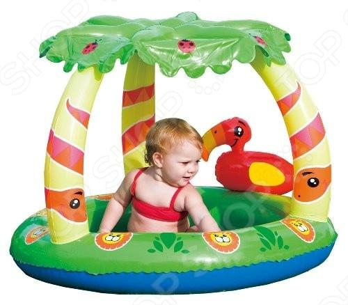 Бассейн надувной Bestway 52179 бассейн детский bestway 57326 надувной 152х38см 477л с брызгалкой