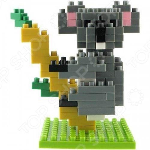 Мини-конструктор Nanoblock NBC_020 «Коала» конструктор коала nanoblock
