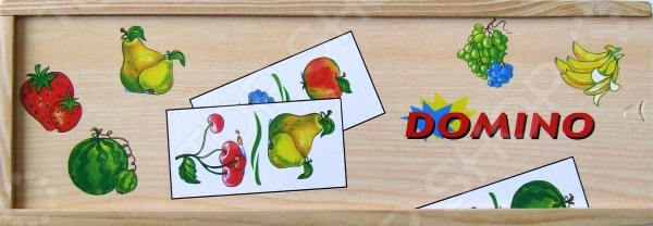 Домино MAXI ADEX «Фрукты»Домино<br>Домино - игра появившаяся в древнем Китае и Индии до сих пор пользуется большой популярностью, как среди взрослых, так и среди детей разной возрастной категории. Домино MAXI ADEX Фрукты - станет интересным и полезным подарком для ребенка. Игра в домино развивает в ребенке внимательность и наблюдательность, а так же способствует развитию ассоциативного и логического мышления. Так же не стоит забывать о том, что игра в домино - это отличная возможность родителям интересно и с пользой провести время с ребенком, ведь совместная деятельность крайне положительно сказывается на общем развитии детей. Игра выполнена из экологически чистых материалов, поэтому является абсолютно безопасной для ребенка. В набор входит 28 элементов.<br>