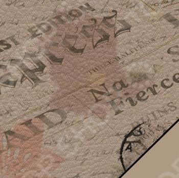 фото Бумага для скрапбукинга Rayher «Газета», купить, цена