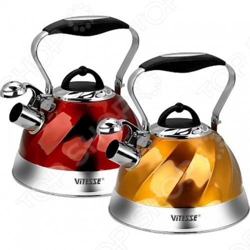 Чайник со свистком Vitesse VS-1119 чайник vitesse vs 147