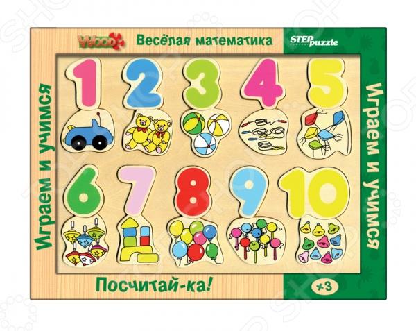Настольная игра Веселая математика. Посчитай-ка!