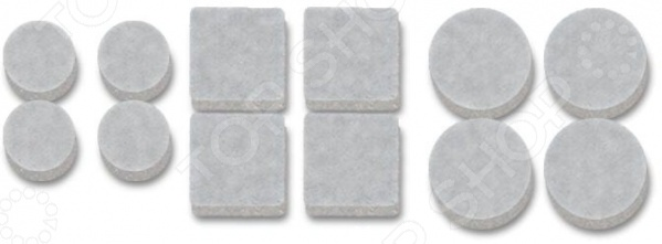 Набор протекторов для передвижения мебели Vortex 26000. В ассортименте