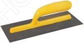 Гладилка FIT 05130Другой отделочный инструмент<br>Гладилка FIT 05130 представляет собой отличный инструмент, без которого трудно обойтись при большинстве строительных и ремонтных работах. Надежная и, в то же время, простая конструкция позволяет позволяет быстро и, что очень важно, качественно выполнить все необходимые штукатурно-отделочные работы. С его помощью вам удастся нанести необходимую строительную смесь или раствор ровным слоем, а затем быстро и равномерно их разгладить.<br>