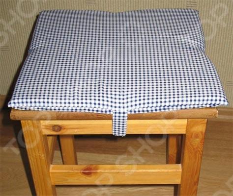 Как сделать подушку на табурет