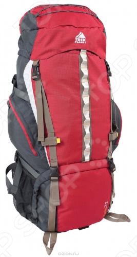 Рюкзак Trek Planet Kailash 75 предназначен для долгих путешествий. Безопасность и комфорт придают боковые стяжки и регулируемый по высоте нагрудный ремень. Спинка с мягкой подкладкой обеспечивает вентиляцию.