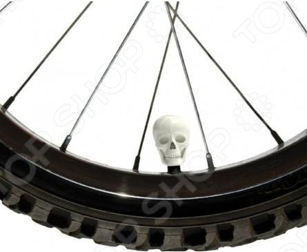 Набор колпачков для велосипеда Luckies Skull Caps