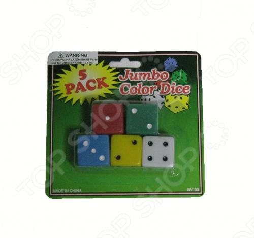 Комплект игральных костей Toy&amp;amp;Gift NL245CKКости игральные<br>Комплект игральных костей Toy Gift NL245CK состоит из пяти костей со значением на грянях от 1 до 6 и предназначен для разнообразных настольных игр. Вы можете собраться с друзьями и поиграть в одну из многочисленных игр, где необходимы кости.<br>