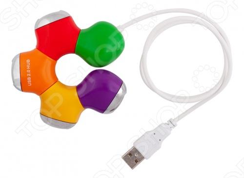 USB-хаб USB-концентратор ХАБ PC Pet Flower
