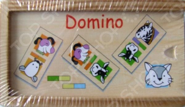 Домино ADEX «Домашние животные №1»Домино<br>Домино - игра появившаяся в древнем Китае и Индии до сих пор пользуется большой популярностью, как среди взрослых, так и среди детей разной возрастной категории. Домино ADEX Домашние животные 1 - станет интересным и полезным подарком для ребенка. Игра в домино развивает в ребенке внимательность и наблюдательность, а так же способствует развитию ассоциативного и логического мышления. Так же не стоит забывать о том, что игра в домино - это отличная возможность родителям интересно и с пользой провести время с ребенком, ведь совместная деятельность крайне положительно сказывается на общем развитии детей. Игра выполнена из экологически чистых материалов, поэтому является абсолютно безопасной для ребенка. В набор входит 28 элементов.<br>