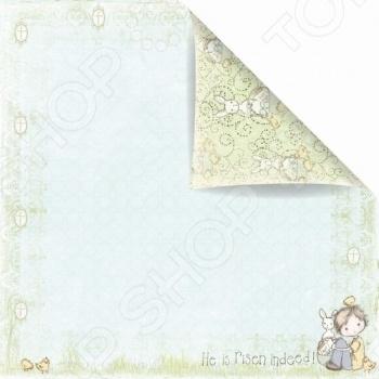 фото Бумага для скрапбукинга двусторонняя Prima Marketing Happy Easter Jack, купить, цена