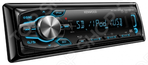 Автомагнитола Kenwood KMM-361SDED автомагнитола kenwood kmm 103ay usb mp3 fm 1din 4х50вт черный