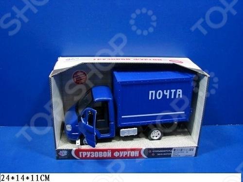 Машина инерционная Joy Toy «Газель фургон Почта» Р40517 гтц на газель бизнес
