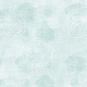 фото Бумага для скрапбукинга Rayher «Синие цветы», купить, цена