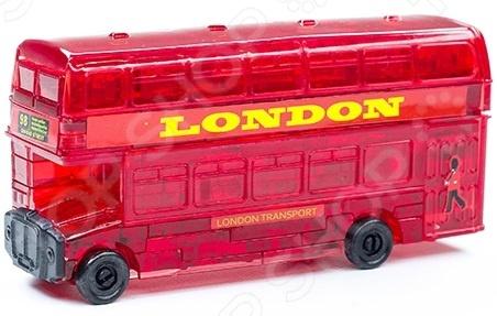 Кристальный пазл 3D Crystal Puzzle «Лондонский автобус» пазлы crystal puzzle головоломка дельфин