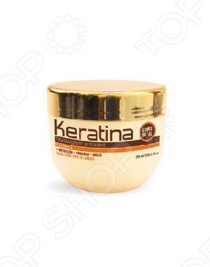 Маска восстанавливающая с кератином для поврежденных и хрупких волос Kativa