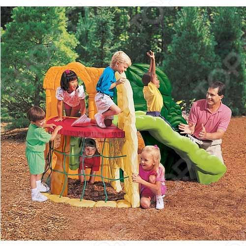 Игровой комплекс Little Tikes Джунгли - поможет детям правильно развиваться, улучшать координацию и поддерживать хорошую физическую форму. Яркий и красочный комплекс на долго привлечёт внимание детей. Комплекс включает в себя горку, лаз на уровне земли и сетчатую стену. Конструкция рассчитана на несколько детей одновременно. Изготовлен из ударопрочных материалов, устойчивых к перепадам температуры. Подобные активные игры на свежем воздухе положительно влияют на здоровье ребёнка, а так же на его умственной и физическое развитие.