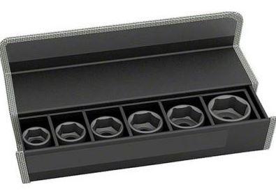 Набор головок для торцевых ключей Bosch 2608551106 набор сменных головок и насадок topex 38d669