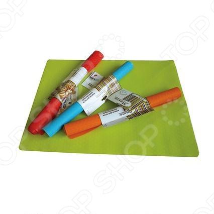 Коврик из силикона для теста Marmiton. В ассортиментеКоврики и подставки под горячее<br>Товар продается в ассортименте. Цвет изделия при комплектации заказа зависит от наличия цветового ассортимента товара на складе. Коврик из силикона для теста Marmiton практичен в использовании. С ним вы сможете месить и раскатывать тесто в любом удобном месте. Коврик изготовлен из силикона, а это значит, что его легко мыть и тесто к нему никогда не прилипнет. Размер коврика 48x36 см.<br>