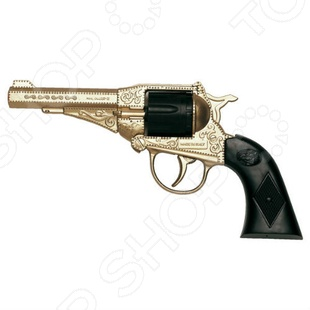 Пистолет Edison Giocattoli Стерлинг игрушечное оружие edison игрушечный пистолет стерлинг золотой 17 5 см