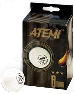 Мячи для настольного тенниса ATEMI это замечательный набор, который позволит вам насладится любимой игрой, используя при этом качественные, изготовленные из целлюлозы и обеспечивающие комфортный и быстрый отскок от поверхности стола, мячи диаметром 40 мм. Именно с таким мячом игра в теннис станет по настоящему приятной и увлекательной.