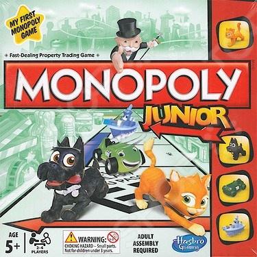 Игра настольная Hasbro «Моя первая монополия» настольная игра hasbro hasbro настольная игра моя первая игра в жизнь