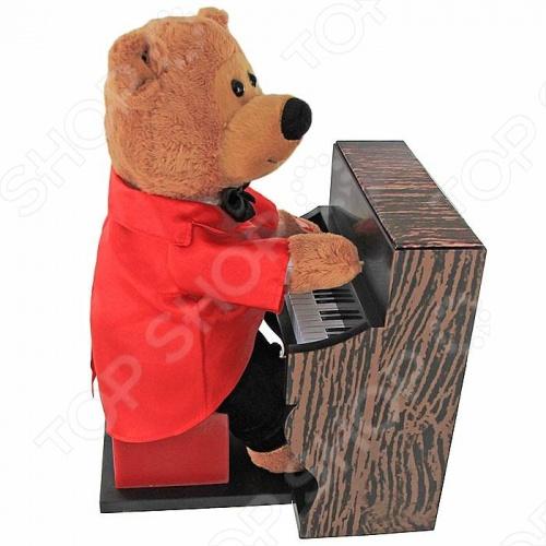 Мягкая игрушка интерактивная «Медвежонок пианист»