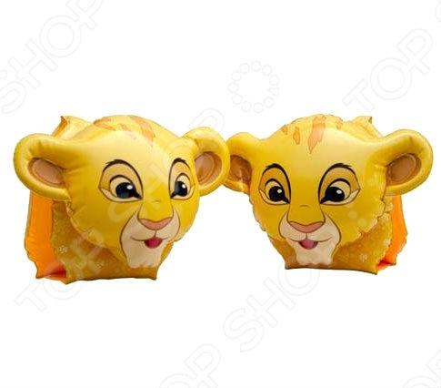 Нарукавники надувные Intex 56649 - это отличная детская модель, сделанная из прочного материала в форме львят из диснеевского мультфильма. Нарукавники помогут ребенку научится плавать и держатся на воде. Плавание с ними подарит море позитива, веселое времяпрепровождение, а также улыбку на лице ребенка. Разумная цена, хорошее качество.