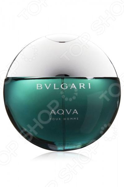 Туалетная вода-спрей для мужчин BVLGARI Aqua homme, 50 мл bvlgari вода туалетная мужская bvlgari aqva pour homme спрей 50 мл