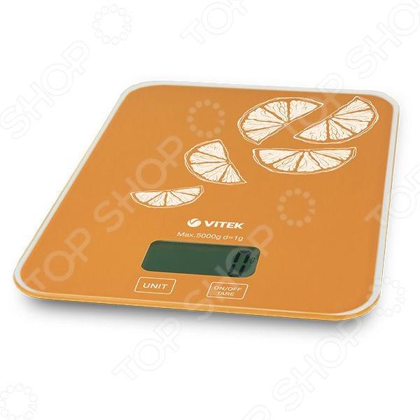Весы кухонные Vitek VT-2416 OG весы vitek vt 2406 bw