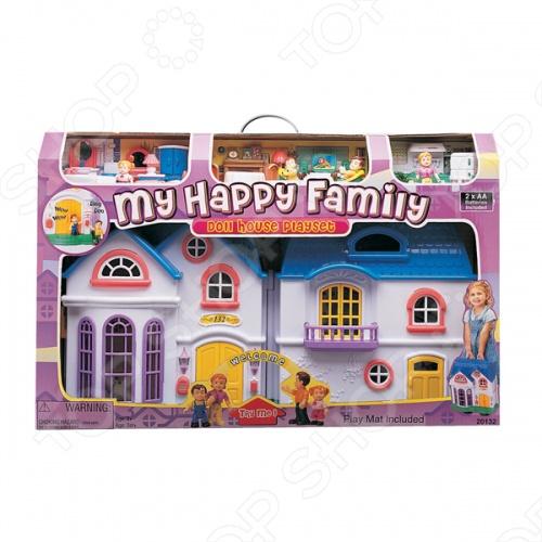 Набор игровой для девочек Keenway «My Happy Family» keenway keenway игровой набор дом моей мечты