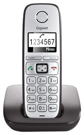Радиотелефон Gigaset E310 gigaset e310
