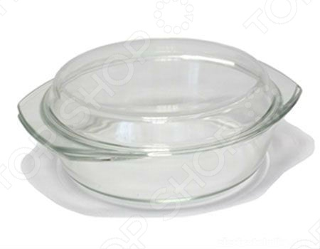 Стеклянная кастрюля с крышкой Helpina VGP K кастрюля васильевский стекольный завод helpina 0351