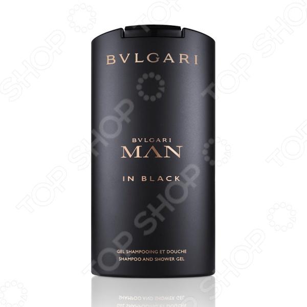Шампунь и гель для душа мужской BVLGARI Man in black шампунь и гель для душа bvlgari man in black 200 мл