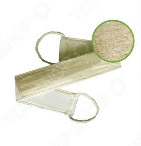 Мочалка из люфы Банные штучки лента с сегментами