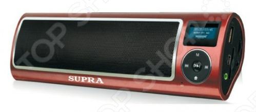 Магнитола Supra PAS-6255 rolsen rbm612bt black портативная акустическая система