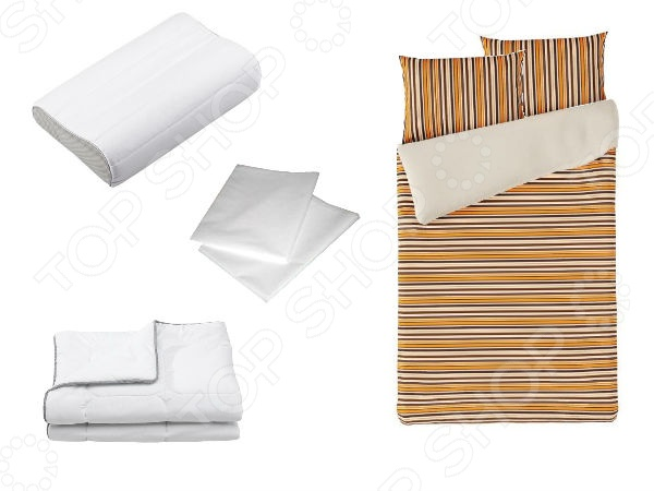 Фото Набор Dormeo Dream set. 2-спальный. Цвет: фиолетовый