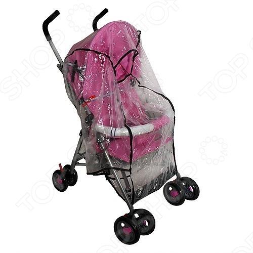 фото Дождевик для прогулочной коляски Карапуз ЯВ035744, Аксессуары к коляскам