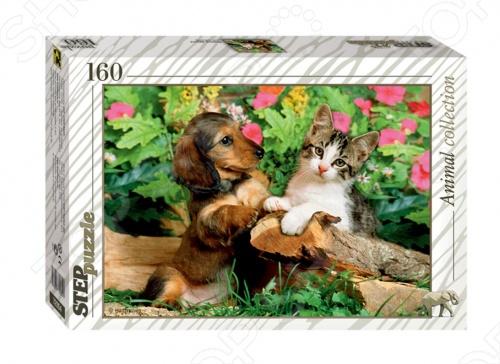 Пазл 160 элементов Step Puzzle Верные друзья! пазлы step puzzle 73058 дружная семейка