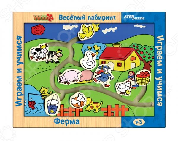 Настольная игра Ферма. Веселый лабиринт