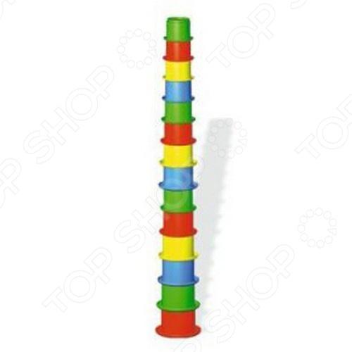 Игрушка-пирамидка Stellar 1512 краснокамская игрушка развивающая пирамидка кольцевая