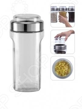Емкость для сыпучих продуктов с мерным стаканом Nadoba Dusana емкость для сыпучих продуктов nadoba vilema 0 7 л