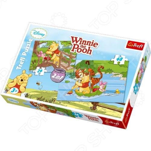 Набор пазлов 2 в 1 Trefl «Играем в воде» Набор пазлов 2 в 1 Trefl «Играем в воде» /