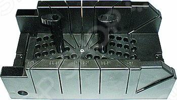 Пластмассовое стусло с двумя эксцентриками 310х120 мм FIT Профи предназначено для распила необходимых материалов под множеством различных углов 22.5 45 90 135 . Инструмент имеет два эксцентрика для удобного крепления деталей. Возможна горизонтальная распиловка под углом в 45 . Максимальный размер обрабатываемой детали - 120 мм.