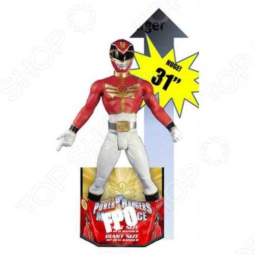 Фигурка игрушечная Big Figures Красный Самурай - уникальная игрушка красного самурая - главный герой из популярного сериала Power Rangers. Порадуйте вашего ребенка качественными игрушками которые в свою очередь подарят ребенку массу удовольствия и веселья за игрой.