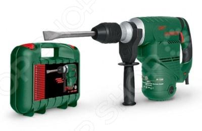 Молоток отбойный DWT H-1200 VS BMCОтбойные молотки<br>Молоток отбойный DWT H-1200 VS BMC представляет собой отличный инструмент, без которого не смогут обойтись ни одни серьезные строительные, ремонтные или монтажные работы. Объединяет в себе мощность, составляющую 1200 Вт и удобство использования, за счёт сниженной вибрации и удобной ручки. Вы можете использовать отбойный молоток при прокладке каналов для кабелей, удаления плитки, напольных покрытий и других работ. Рукоять имеет эргономичную форму, а так же прорезиненную накладку обеспечивающую удобный хват, а значит и безопасность применения инструмента.<br>