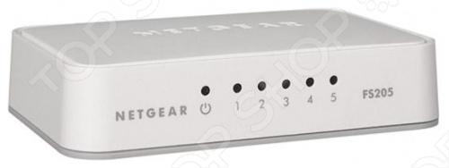 Коммутатор NetGear FS205-100PES коммутатор netgear fs305 fs305 100pes